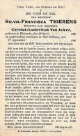 Sint-Niklaas, Elversele, 1941, Silvia Thierens, Van Acker - Andachtsbilder