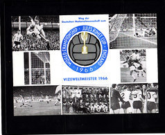 Soccer World Cup 1966 - Football - GERMANY - Postcard - Coupe Du Monde