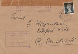 Britische Feldpost In Deutschland - Depot Works Office Osnabrück - British Forces Germany - Covers & Documents