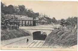 SAINT CLOUD : LA GARE - Saint Cloud
