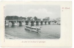 SAINT CLOUD : LE PONT - Saint Cloud