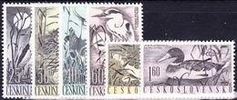 ** Tchécoslovaquie 1960 Mi 1228-33 (Yv 1109-14), (MNH) - Ongebruikt