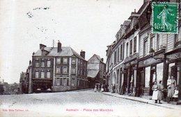 76  -  AUMALE - Place Des Marchés  - Animation - Aumale