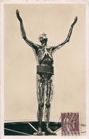 Cpsm PARIS 1937 - Der Gläserne Mensch - L' Homme En Verre - The Man Of Glass - Expositions