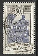 OCEANIE N°55  Belle Oblitération De Papeete - Used Stamps