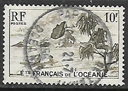 OCEANIE N°197  Belle Oblitération De Papeete - Used Stamps