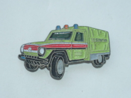Pin's SAPEURS POMPIERS ALLEMAND, CAMION A - Feuerwehr
