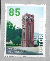 2020 Austria Österreich Mi.29 **MNH Nr. 80 Floridsdorf - Wasserturm  Dispenserrollenmarken - 2011-... Ungebraucht