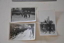 Lot De 3 Photos Rassemblements Scoutisme Scout Chantier De Jeunesse - Scouting