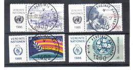MOO265 UNO WIEN 1986  Michl  60/63 Mit TABS Used / Gestempelt Siehe ABBILDUNG - Oblitérés