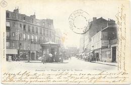 ASNIERES : PLACE ET RUE DE LA STATION - Asnieres Sur Seine