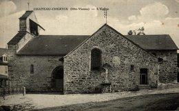 CHATEAU CHERVIX L'EGLISE - Frankrijk