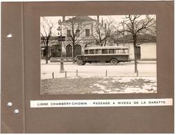 Ligne Chambéry-Chignin Passage à Niveau De La Garatte - Garage De Chignin - Chambery