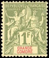 * 13 Valeurs. Série Complète. SUP. - Grote Komoren (1897-1912)