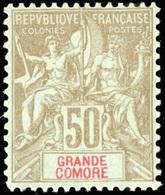 * 6 Valeurs. Série Complète. SUP. - Grote Komoren (1897-1912)