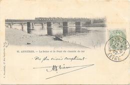 ASNIERES : LE PONT DU CHEMIN DE FER - Asnieres Sur Seine
