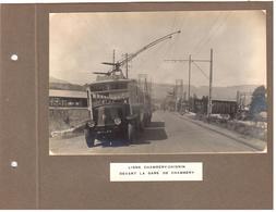 Ligne Chambéry-Chignin Devant La Gare De Chambéry - La S/-station De Challes-les-Eaux - Chambery