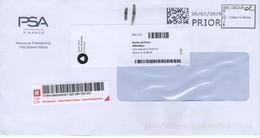 Enveloppe - Envoi Recommandé - Affranchissement Machine (Collect & Stamp) - Belgien