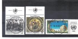 MOO273 UNO WIEN 1989  Michl  96/97 + 99 Mit TABS  Used / Gestempelt Siehe ABBILDUNG - Oblitérés