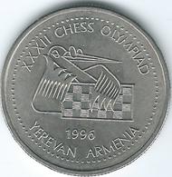 Armenia - 1996 - 100 Dram - Yerevan Chess Olympiad - KM69 - Armenië