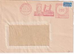 BUND   1950 LETTRE EMA DE SCHWENNINGEN - Machine Stamps (ATM)