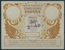 ESPAÑA -   Type  I   -   2 40  On  35 CÉNTIMSOS   -   VALE DE RESPUESTA  Reply Coupon Reponse - Unclassified