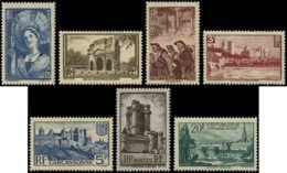 FRANCE Poste ** - 388/394, Complet, 7 Valeurs - Cote: 165 - France
