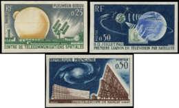 FRANCE Poste ** - 1360/1362, Non Dentelés: Télécommunications Spatiales, Telstar - Cote: 275 - Nuevos