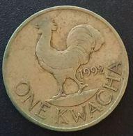 MALAWI - 1 KWACHA 1992 - KM 20 - Malawi