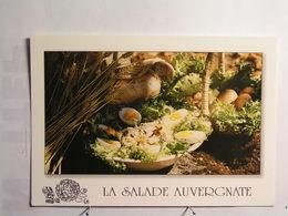 Recettes D'Auvergne (cuisine) - La Salade Auvergnate - Recettes (cuisine)