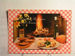 Recettes De Normandie (cuisine) - Les Coquilles St Jacques à La Normande - Recettes (cuisine)