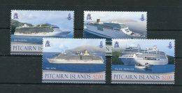 "Pitcairn - Mi.Nr. 876 / 879 - ""Kreuzfahrtschiffe"" ** / MNH (aus Dem Jahr 2013) - Pitcairn"