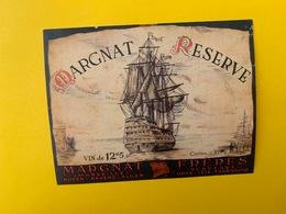 13071 - Margnat Réserve Ancienne étiquette - Barche A Vela & Velieri