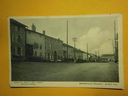 Baronville Grande Rue,Moselle 57,écrite 1939,très Bel état,pas Commun,envoi En Lettre économique 0,95€,possibilité De Re - Autres Communes