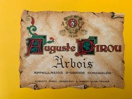 13073 - Arbois Auguste Pirou - Etichette