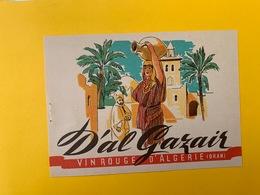13074 - D'Al Gazair Oran Algérie - Etichette