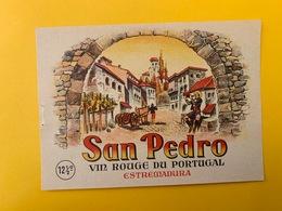 13076 -  San Pedro Estramadura Portugal - Etichette