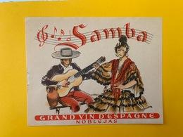 13077 -  Samba  Noblejas Espagne - Etichette