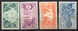 Col17  Colonie Martinique  N° 129 à 132 Neuf X MH  Cote 27,00€ - Unused Stamps