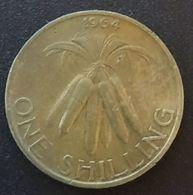 MALAWI - ONE - 1 SHILLING 1964 - KM 2 - Malawi