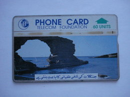 Carte Téléphonique Du Pakistan  ( Utilisé ). - Pakistán
