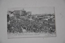 ALGER  17 Février 1919 L'arrivée Du 9e Zouaves De Marche - Algiers