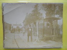 Photo TIV , Ligne Rennes-Redon ,tramway En Gare De Mordelles - Trains