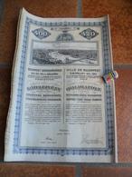 ACTION EMPRUNT 1911 BUDAPEST HONGRIE VOIR SCAN - Sonstige