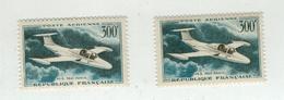 FRANCE 1957 Poste Aérienne N° 35 NEUF Par Deux - Poste Aérienne