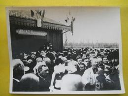 Photo TIV , Inauguration ,Raccordement ,gare De Miniac-Morvan - Treni