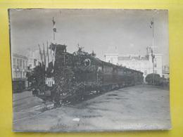 Photo TIV , Train Décoré ,gare De Rennes ,Viarmes - Trains
