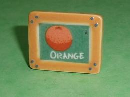 Fèves / Autres / Divers : Orange , Fruit , Cadre    T44 - Charms