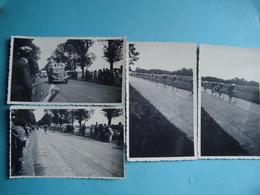 CYCLISME - Tour De France - 79 - Région De Bressuire - 4 Photos 6cm X 11cm - Passage Des Cyclistes - Radsport