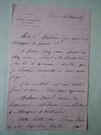 Lettre Autographe Camille DOUCET (1812-1895) POETE George SAND - Autographs